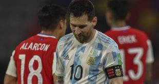 messi-scores-but-chile-hold-argentina-in-wc-qualifier