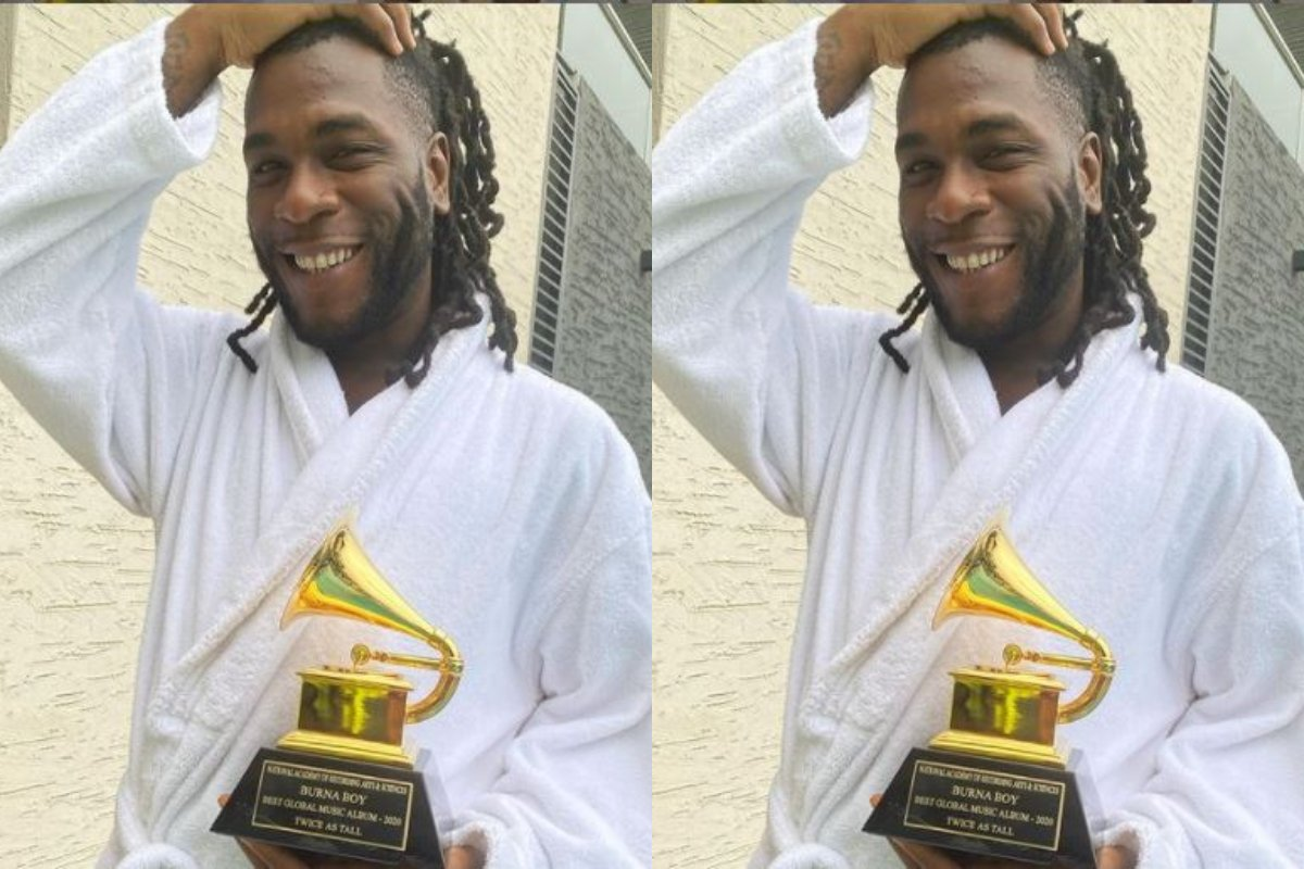 i'm-a-product-of-sacrifice-–-burna-boy-takes-delivery-of-grammy-award