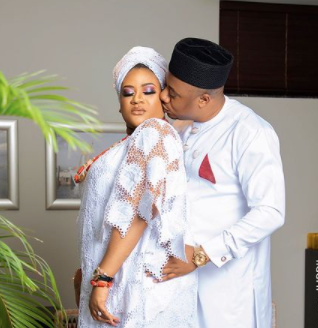 nkechi-blessing-releases-wedding-photo-on-hubby's-birthday