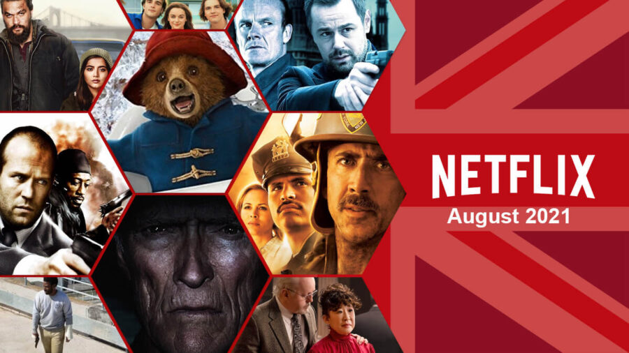 What's Coming to Netflix UK in August 2021