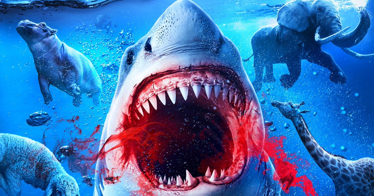 'Noah's Shark' Trailer Unleashes a Prehistoric Great White of Biblical Proportions