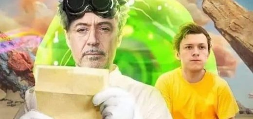 Robert Downey Jr. and Tom Holland Are 'Rick and Morty' in Live-Action Movie Fan Art
