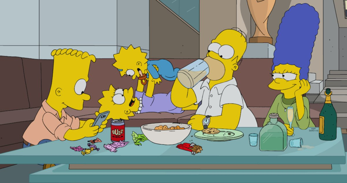 'Treehouse of Horror XXXII' Images Tease a Simpsons 'Parasite' Spoof