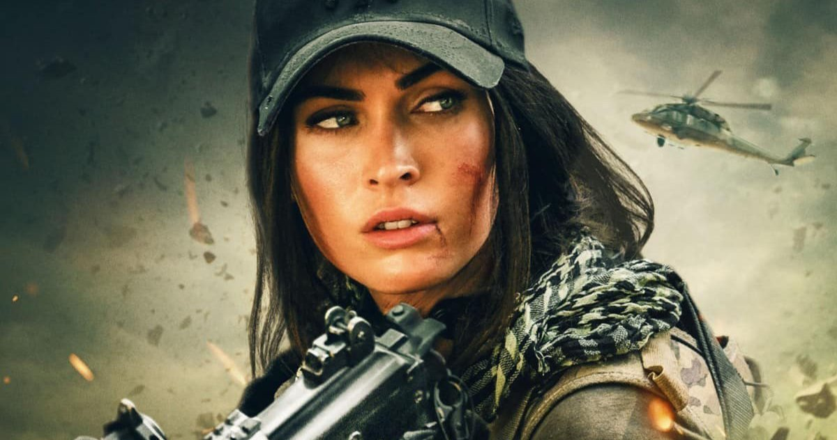 Megan Fox Shares First Look at Her Debut in 'The Expendables 4'