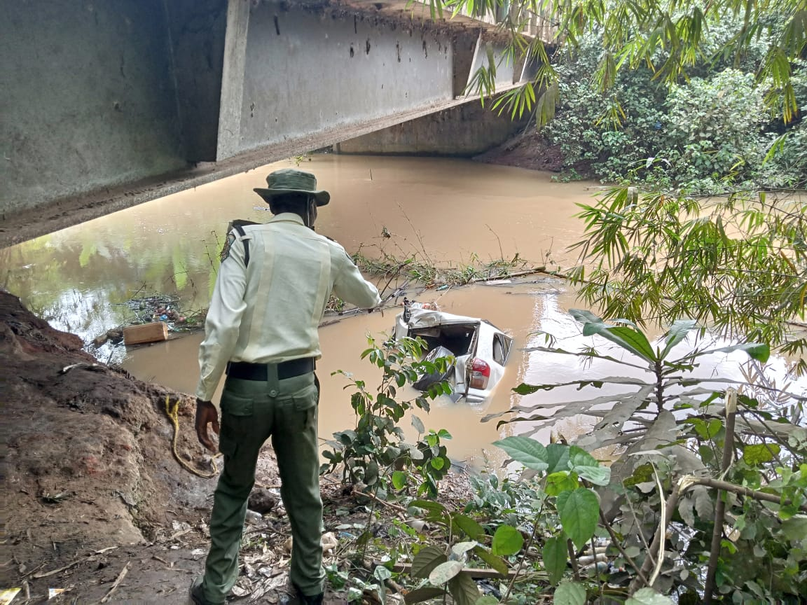 One dead as truck plunges car into river in Ogun