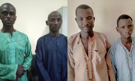 Four nabbed in Adamawa for extorting victims with kidnap threat