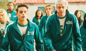 'Squid Game' Gets Spoiler-Filled 'SNL' Country Music Video from Pete Davidson & Rami Malek